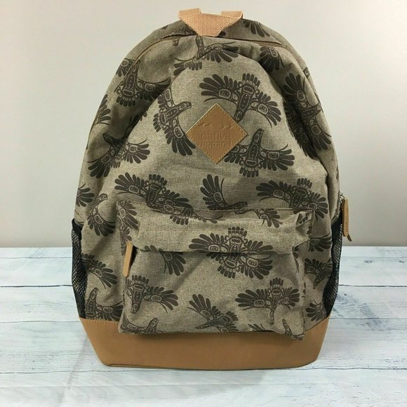 Native Apparel School Laptop Backpack Sleeve Bag